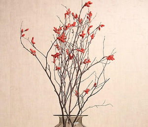 Myrtle Twigs, Handmade Artificial Flower, Natural Decorations, Flower Arrangement