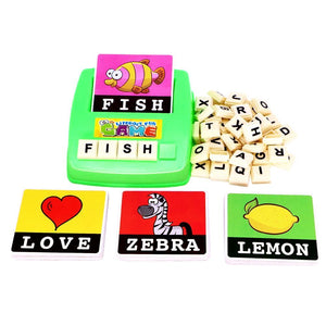 Alphabet Game - TOYS 4 WISE KIDS - EDUCATIONAL TOYS