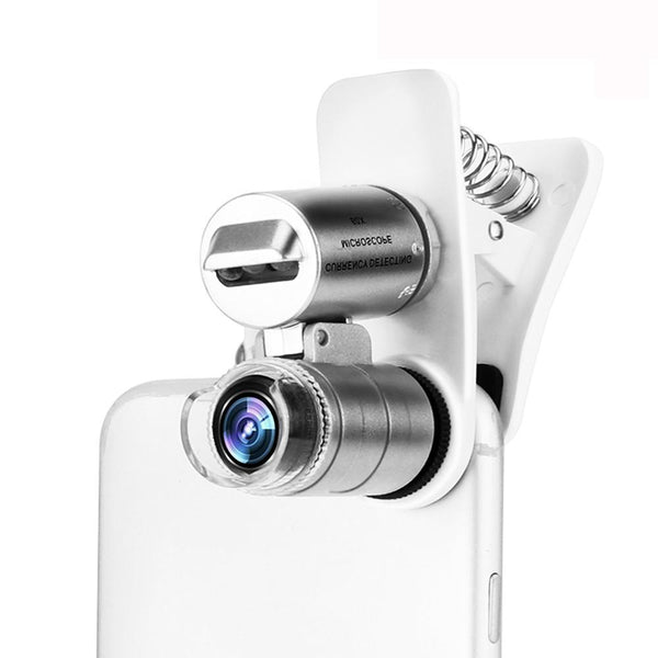 Smartphone Microscope Lenses For iPhone SE/5S/6S/Plus - 60X