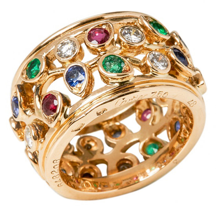 CARTIER - Yellow gold ring