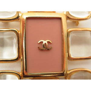 CHANEL - Gold brooch