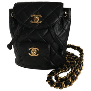 CHANEL - Leather backpach