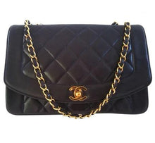 CHANEL - Diana leather handbag