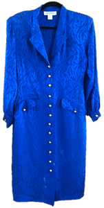 RAE JOSEPH - Blue Silk Dress