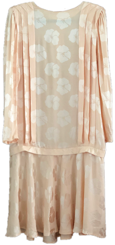 RAE JOSEPH - Silk Peach Dress