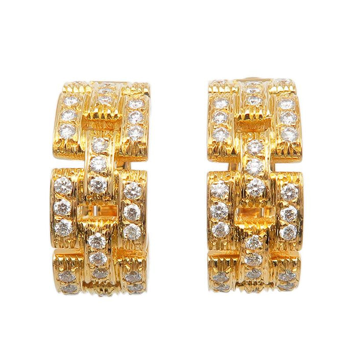 Cartier - Diamond Panthere Earrings