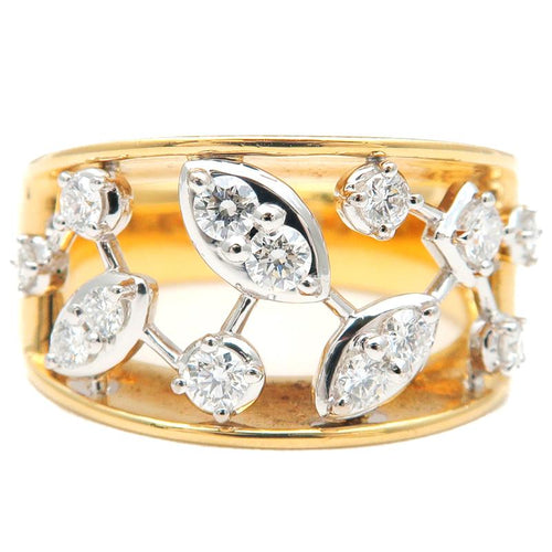 TASAKI - Diamond Gold Ring