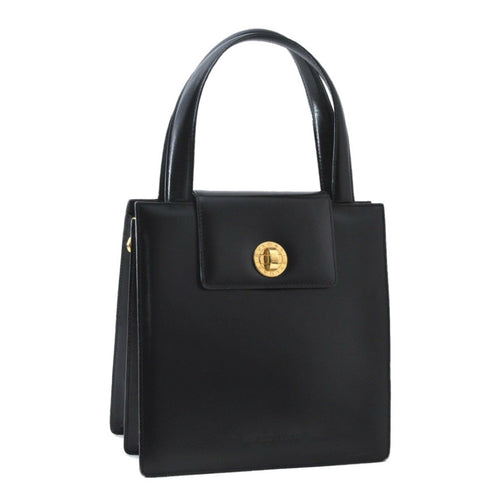 BULGARI - Bulgari Leather Handle Bag