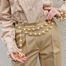 CHANEL - Layered Pearl Belt