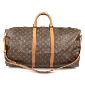LOUIS VUITTON - 55 Keepall Monogram Travel Bag