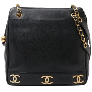 CHANEL - Chain Logo Bag