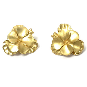 COSTUME - Gold Earrings