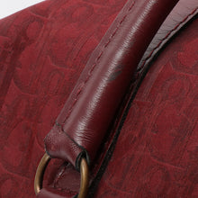 CHRISTIAN DIOR - Burgundy Trotter Bag