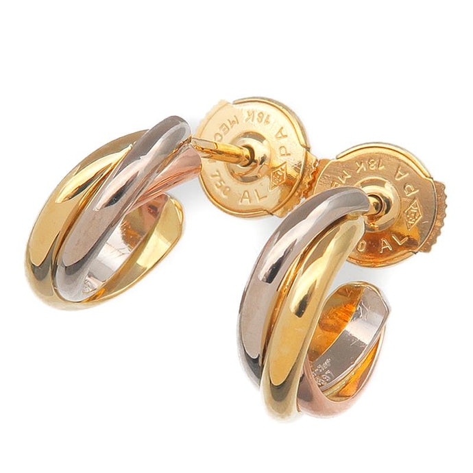 CARTIER - Trinity Gold Earrings