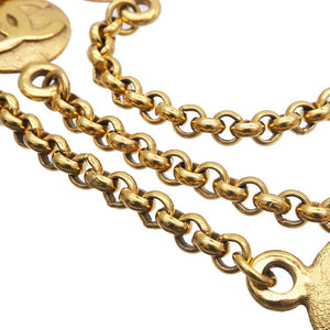 CHANEL - Gold Logo Layering Necklace