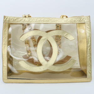 CHANEL - Transparent Chain Tote
