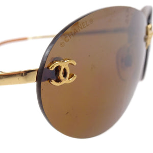 CHANEL - Logo Sunglasses