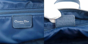 CHRISTIAN DIOR - Navy Trotter Shoulder Bag