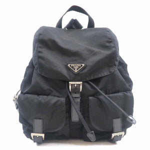 PRADA- Black Backpack