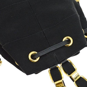 SALVATORE FERRAGAMO - Black Backpack