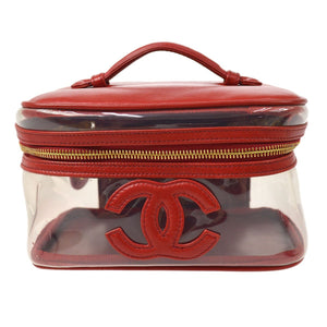 CHANEL - Deep Red Vanity Bag