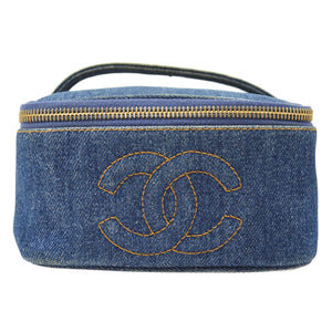 CHANEL - Denim Vanity Bag