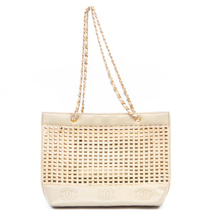 CHANEL - Chanel Chain Shoulder Tote Bag