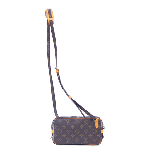 LOUIS VUITTON - Louis Vuitton Monogram Pochette Marly Bandouliere