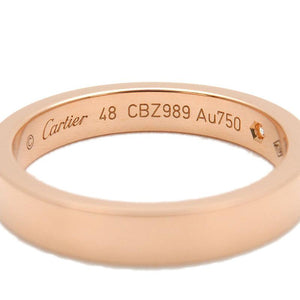 CARTIER - Cartier Engraved Rose Gold Ring