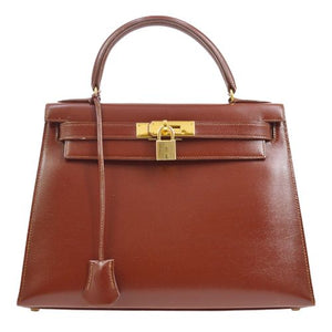 HERMÈS - Warm Brown Kelly Bag