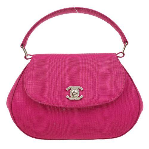 Chanel - Fuchsia Satin Bag