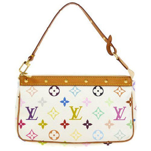LOUIS VUITTON - White Monogram Pochette