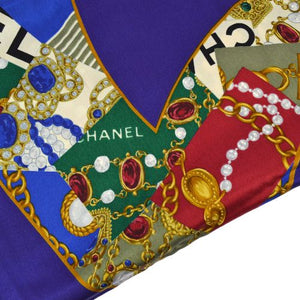 Chanel - Logo Silk Scarf