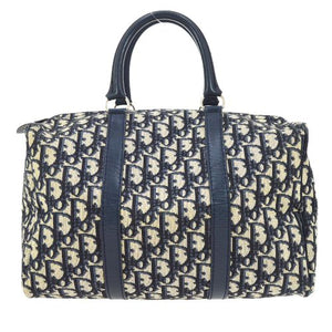 CHRISTIAN DIOR - Navy Trotter Bag