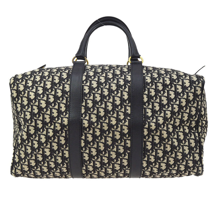 CHRISTIAN DIOR - Navy Trotter Travel Bag