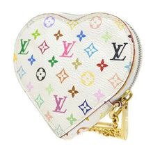 LOUIS VUITTON - White Monogram Coin Purse