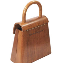SALVATORE FERRAGAMO - Wood handle bag