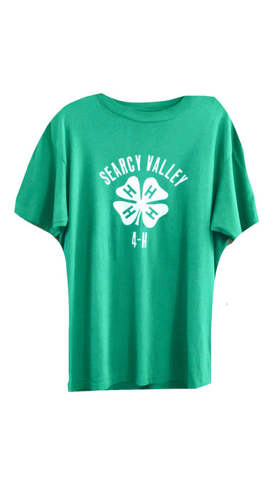 Vintage Green Clover Tee