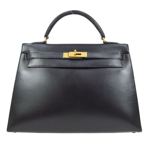 HERMÈS - Black Kelly Bag