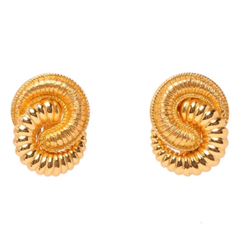 CHRISTIAN DIOR - Gold Earrings