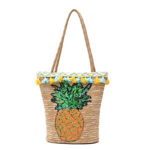 RAE JOSEPH - Tropical Beach Bag