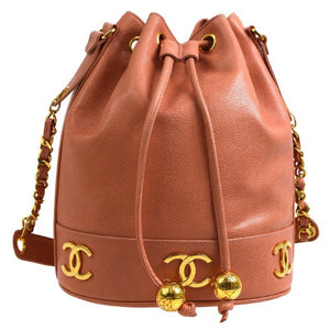 CHANEL - Leather Chain Bag