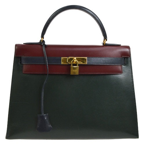 HERMÈS - Tri-color Kelly Bag