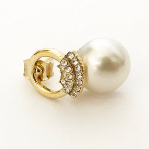 RAE JOSEPH - Pearl Gold earrings