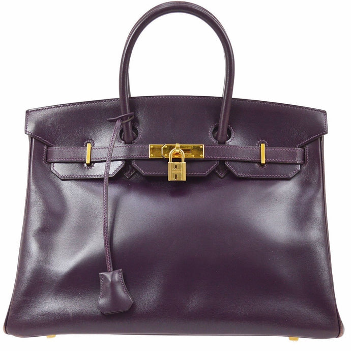 HERMES - Raisin Birkin Bag 35