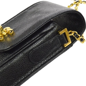 CHANEL - Leather phone case bag