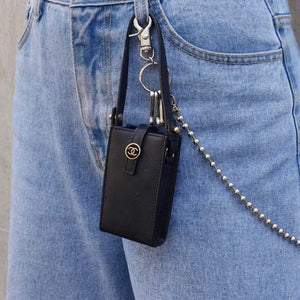 CHANEL - Mini Black Bag