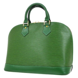 LOUIS VUITTON - Green Alma Handbag