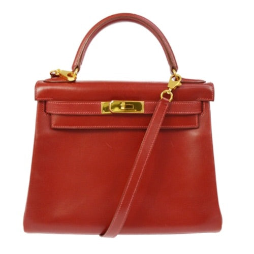 HERMÈS - Kelly leather handbag (28)