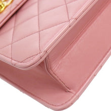 CHANEL - Quilted pink bag